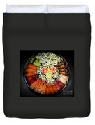 Sushi Party Tray Duvet Cover