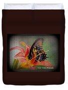 Swallowtail Duvet Cover