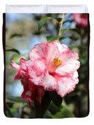 Sweet Camellia Duvet Cover