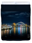 Sydney Harbour Duvet Cover