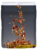 1 Tablespoon Red Pepper Flakes Duvet Cover