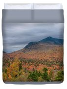 Tapestry Of Fall Colors Duvet Cover