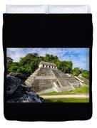 Temple Of Inscriptions Duvet Cover