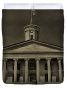 Tennessee Capitol Building Duvet Cover