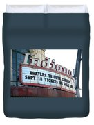 Terre Haute - Indiana Theater Duvet Cover
