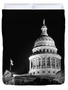 Texas State Capitol 2 Duvet Cover