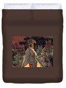 Thai Ridgeback Art Canvas Print Duvet Cover