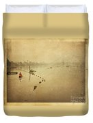 Thai River Life Duvet Cover