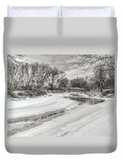 Thames River  Duvet Cover