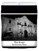 The Alamo Duvet Cover