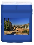 The Alhambra Palace Cubo Tower Duvet Cover