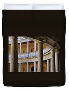 The Alhambra Palace Of Carlos V Duvet Cover by Guido Montanes Castillo