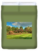 The Alumni Memorial Grove Duvet Cover