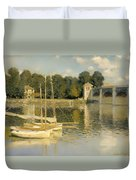 The Argenteuil Bridge Duvet Cover