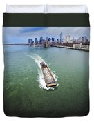 The Barge Duvet Cover