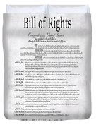 The Bill Of Rights H K Duvet Cover