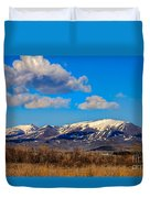 The Butte Duvet Cover