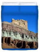 The Castle Capitol Reef National Park Utah Duvet Cover
