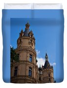 The Castle Of Schwerin Duvet Cover