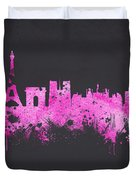 The City Of Love Duvet Cover
