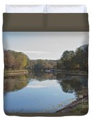 The Erie Canal  Duvet Cover