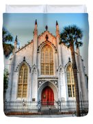 The French Huguenot Church Duvet Cover