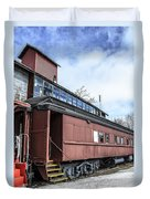 The Grand Trunk Western Depot  Duvet Cover