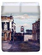 The Gun Public House Isle Of Dogs London Duvet Cover