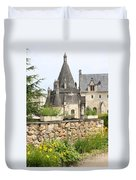 The Kitchenbuilding Of Abbey Fontevraud Duvet Cover