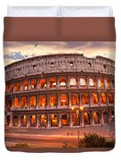 The Majestic Coliseum - Rome - Italy Duvet Cover