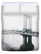The Manhattan Bridge Duvet Cover