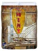 The Mint Duvet Cover