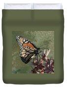 The Monarch Painterly Duvet Cover