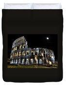 The Moon Above The Colosseum No2 Duvet Cover