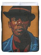 The Most Beautiful Boogie Man Duvet Cover