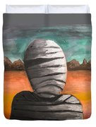 The Mummy And The Curse Of Eternity Duvet Cover