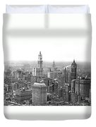 The Ny Financial District Duvet Cover