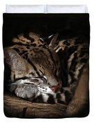 The Ocelot Duvet Cover
