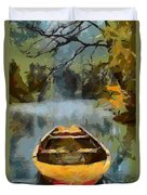 The Old Boat Duvet Cover