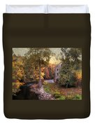 The Old Stone Mill Duvet Cover
