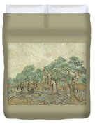 The Olive Orchard Duvet Cover