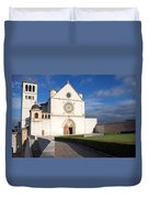 The Papal Basilica Of St. Francis Of Assisi  Duvet Cover