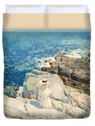 The South Ledges Appledore Duvet Cover
