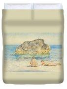 The Sunbathers Duvet Cover