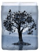 The Tree That Wept A Lake Of Tears Duvet Cover