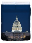 The United States Capitol Building Duvet Cover