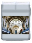 The United States Naval Academy Chapel Duvet Cover