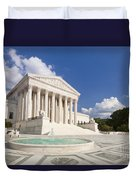 The Us Supreme Court Building Duvet Cover