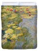 The Waterlily Pond Duvet Cover