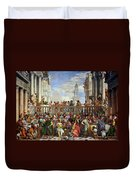 The Wedding At Cana Duvet Cover